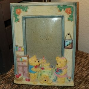 Birthday Bear Picture Frame